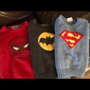 Gap Kids Limited Edition Superhero Sweaters (3)